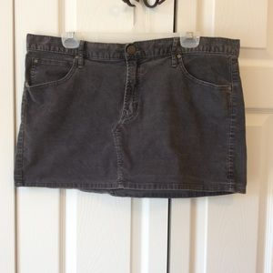 GAP 1969 Corduroy 33x16 Skirt